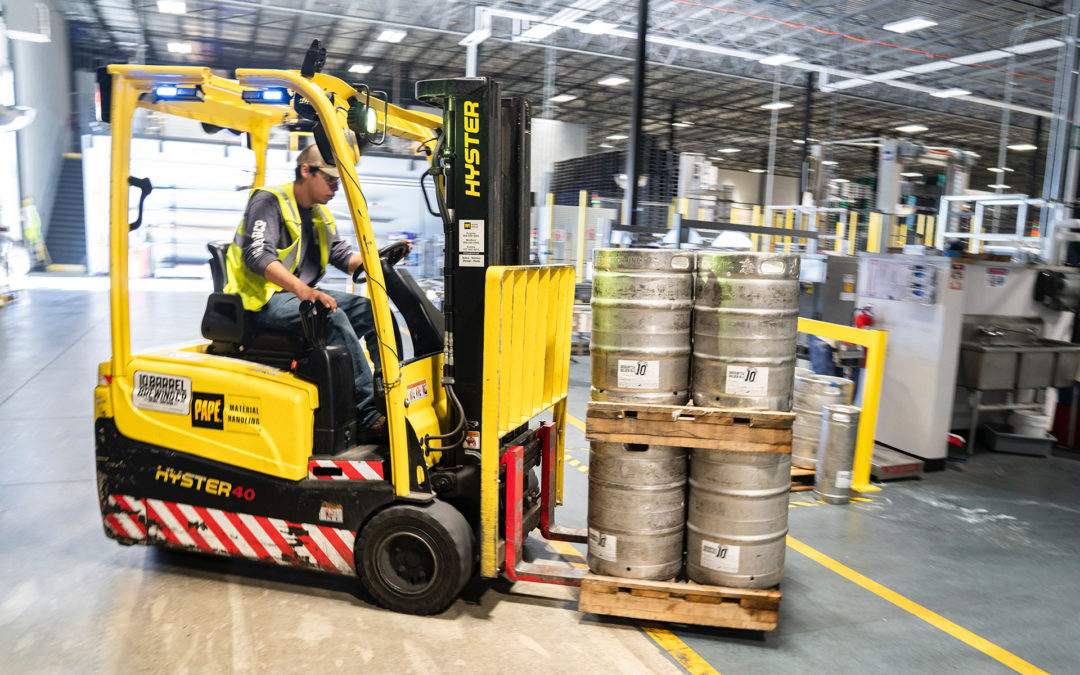Factor Material Handling into Your Logistics Sooner, Not Later